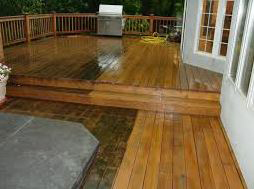 Pressure Washed Decking